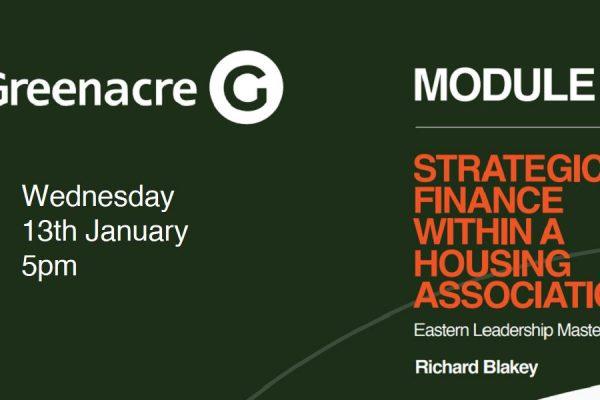 Eastern Leaders Masterclass 4 – Strategic Finance with Richard Blakey