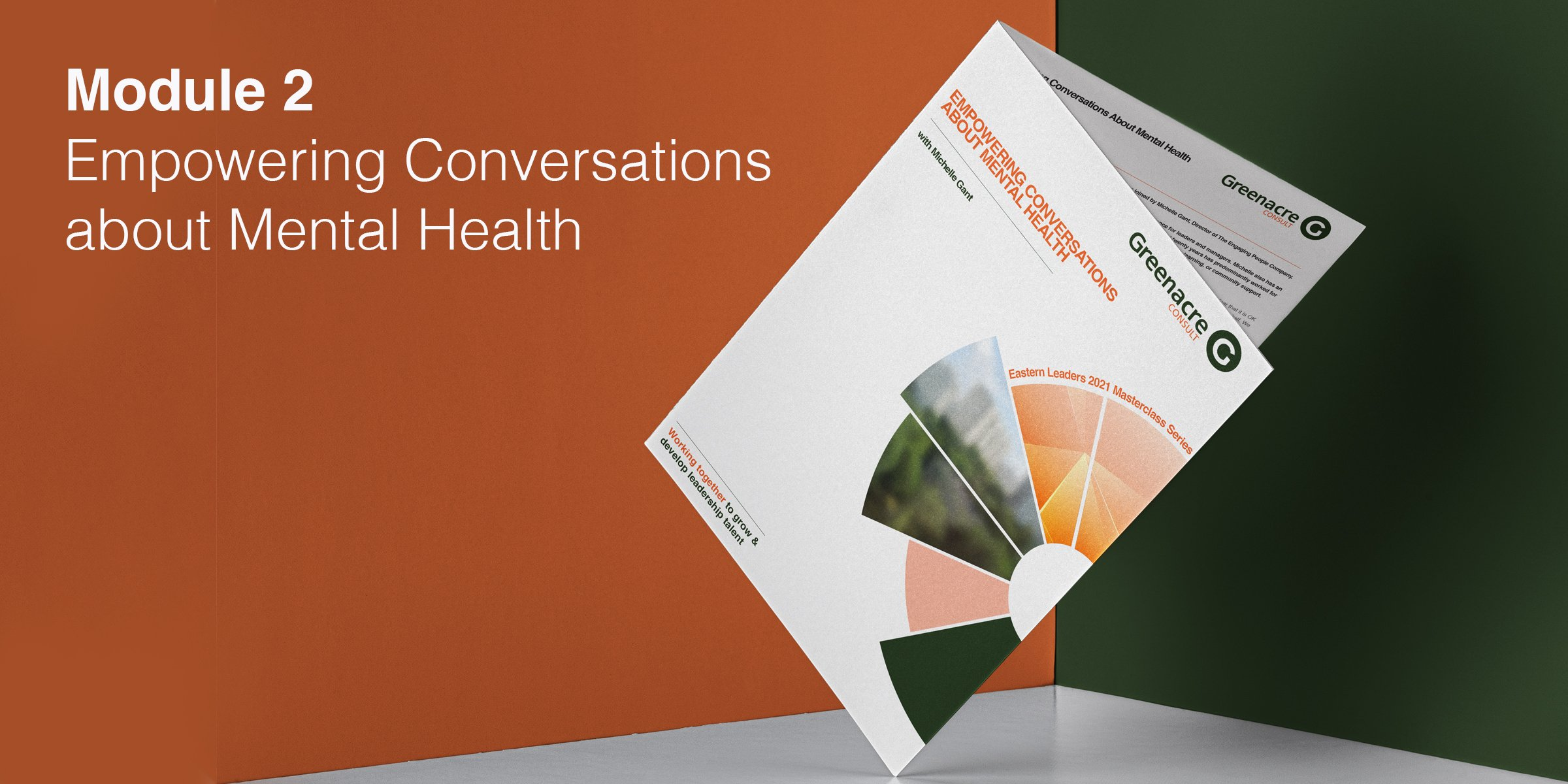 Conversations about mental health holding image