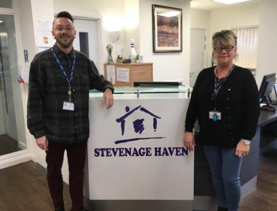 The Haven charity team